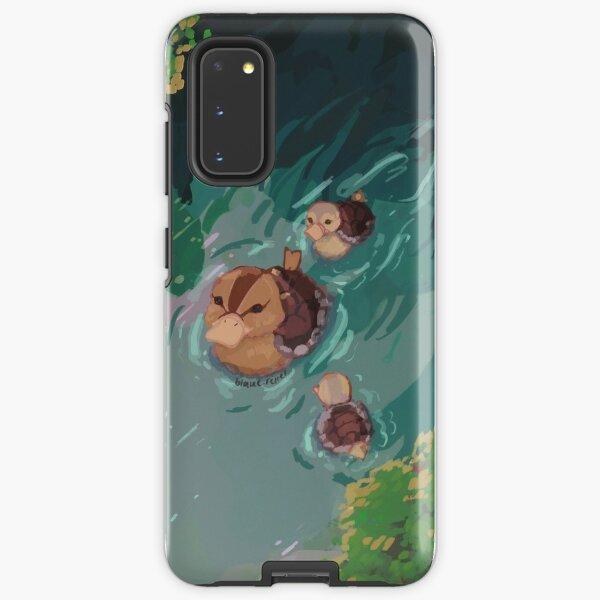 turtle duck pond avatar the last airbender Samsung Galaxy Tough Case