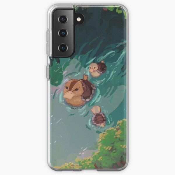 turtle duck pond avatar the last airbender Samsung Galaxy Soft Case