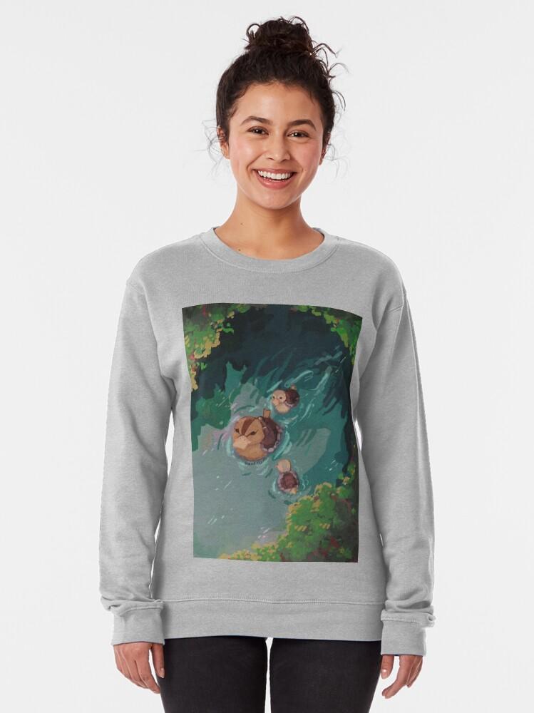 Alternate view of turtle duck pond avatar the last airbender Pullover Sweatshirt