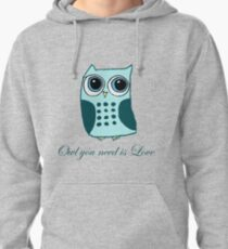 Owl you need is love Pullover Hoodie