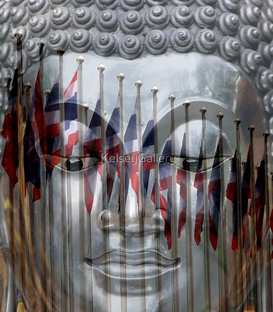 Thailand Flag Reflections by KelseyGallery