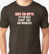 Save the Chocolate Unisex T-Shirt