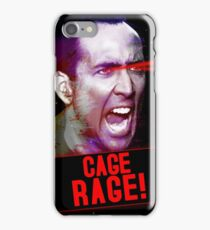 Nicolas Cage Rage! iPhone Case/Skin