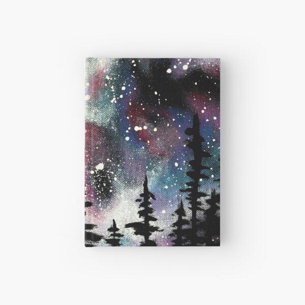 Winter Galaxy Sky Hardcover Journal