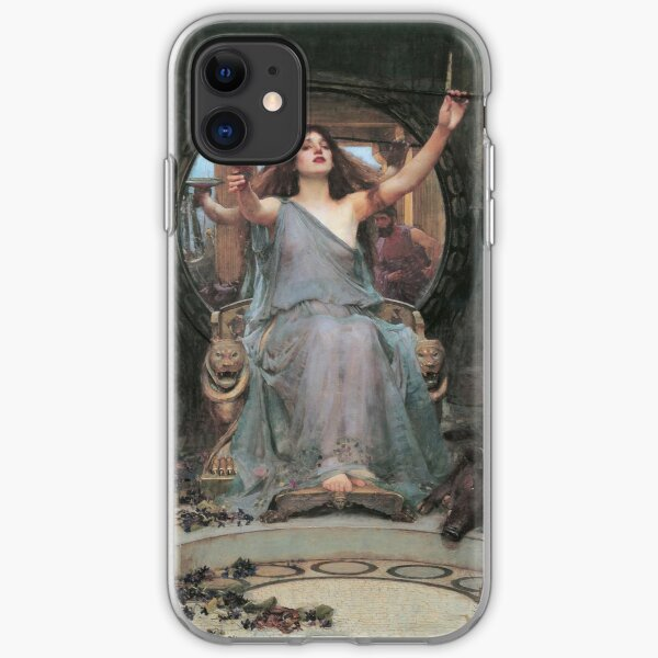 Circe Offering The Cup To Ulysses iPhone Soft Case