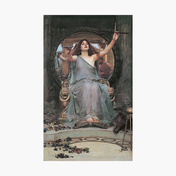 Circe Offering The Cup To Ulysses Photographic Print