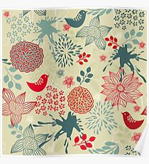 Cute Doodle Pattern Poster