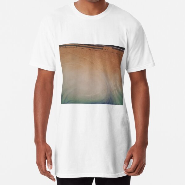 Painting of a Computer Screen Long T-Shirt