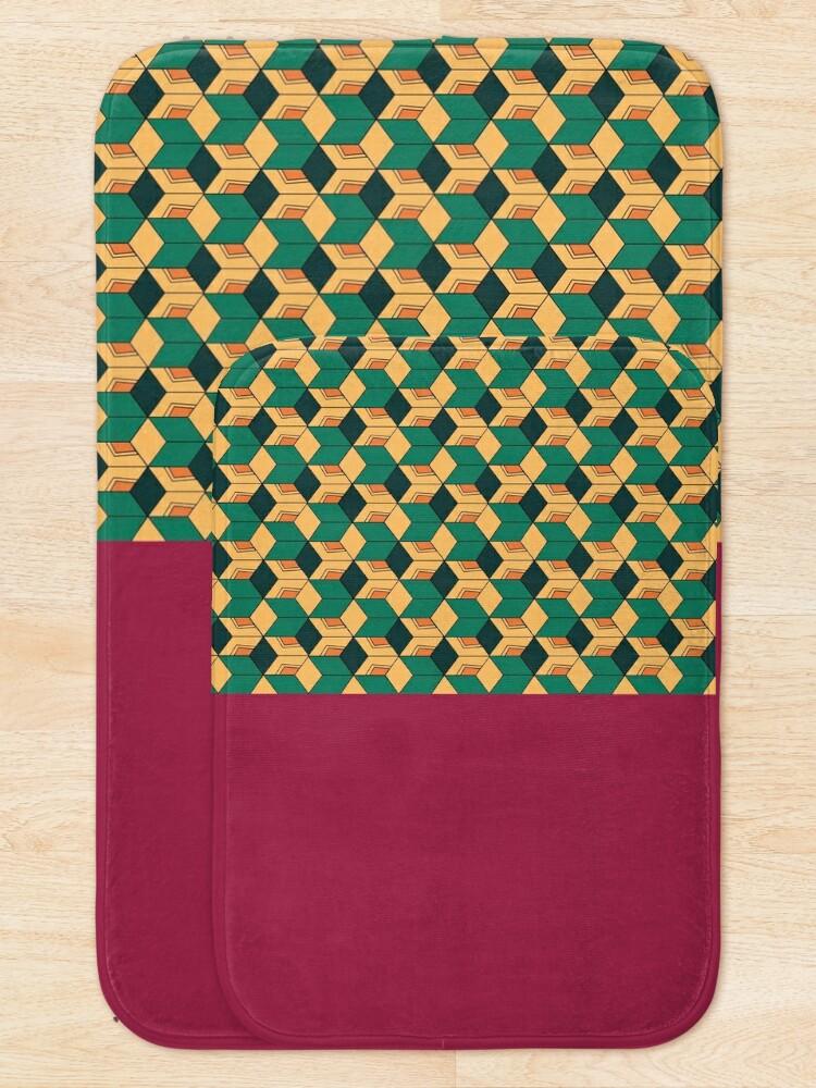 Alternate view of Tomioka pattern Bath Mat