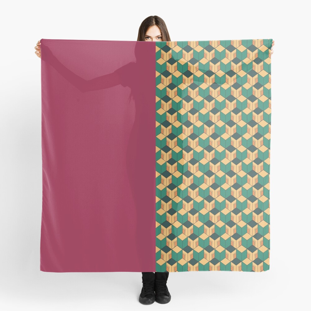 Tomioka pattern Scarf