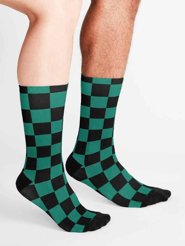 Alternate view of Tanjiro pattern Socks
