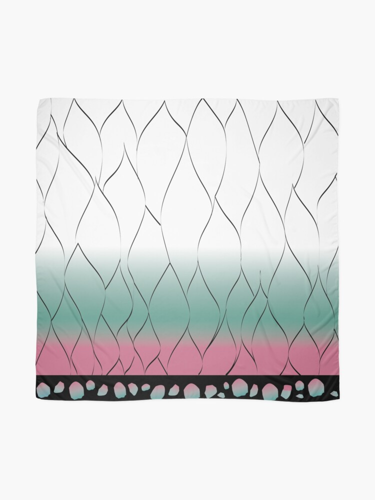Alternate view of Shinobu pattern Scarf