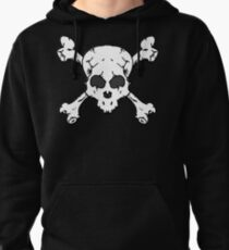 Skull and Crossbones Pullover Hoodie