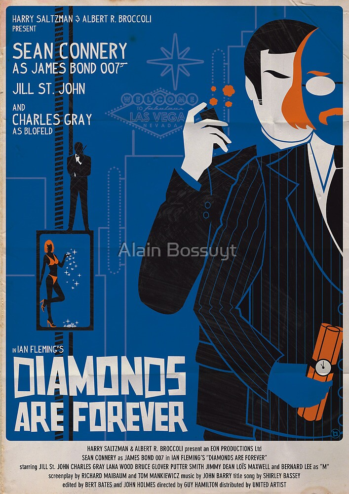 DIAMONDS ARE FOREVER by Alain Bossuyt