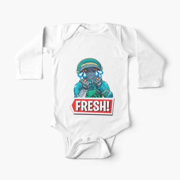 Crying Fresh Long Sleeve Baby One-Piece