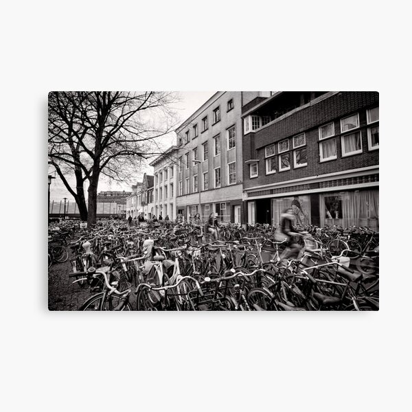 Bicycle Expo Utrecht, The Netherlands Canvas Print