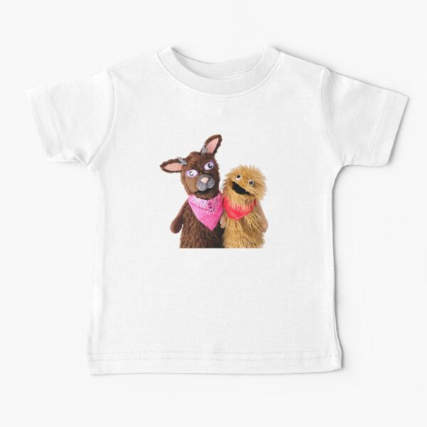 Wump Mucket Puppets Jacqui & Coleman merchandise Baby T-Shirt