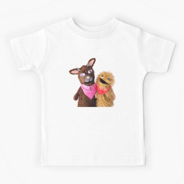 Wump Mucket Puppets Jacqui & Coleman Waren Kinder T-Shirt