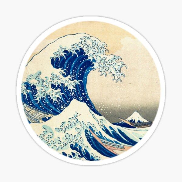 Die große Welle vor Kanagawa Sticker