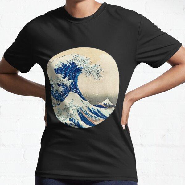 The Great Wave off Kanagawa Active T-Shirt