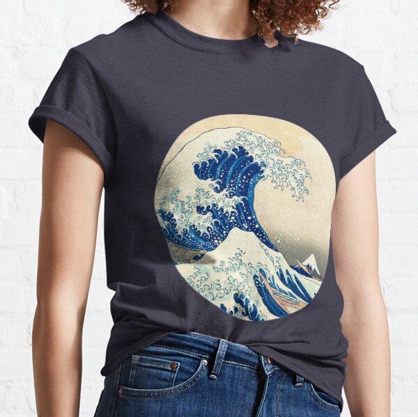 La grande vague au large de Kanagawa T-shirt classique