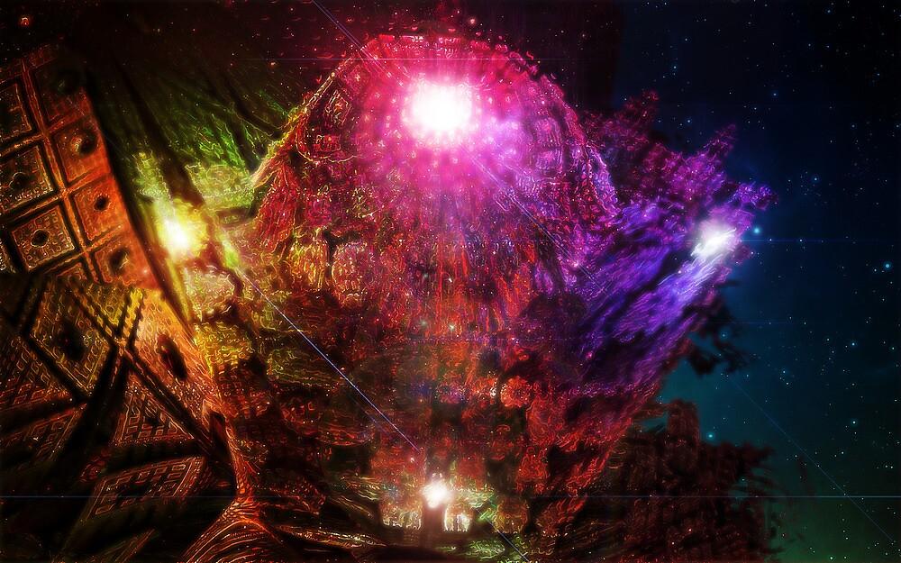 Space coral fractal by glaktor