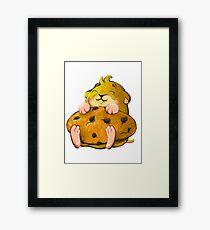 Clever hamster Framed Print