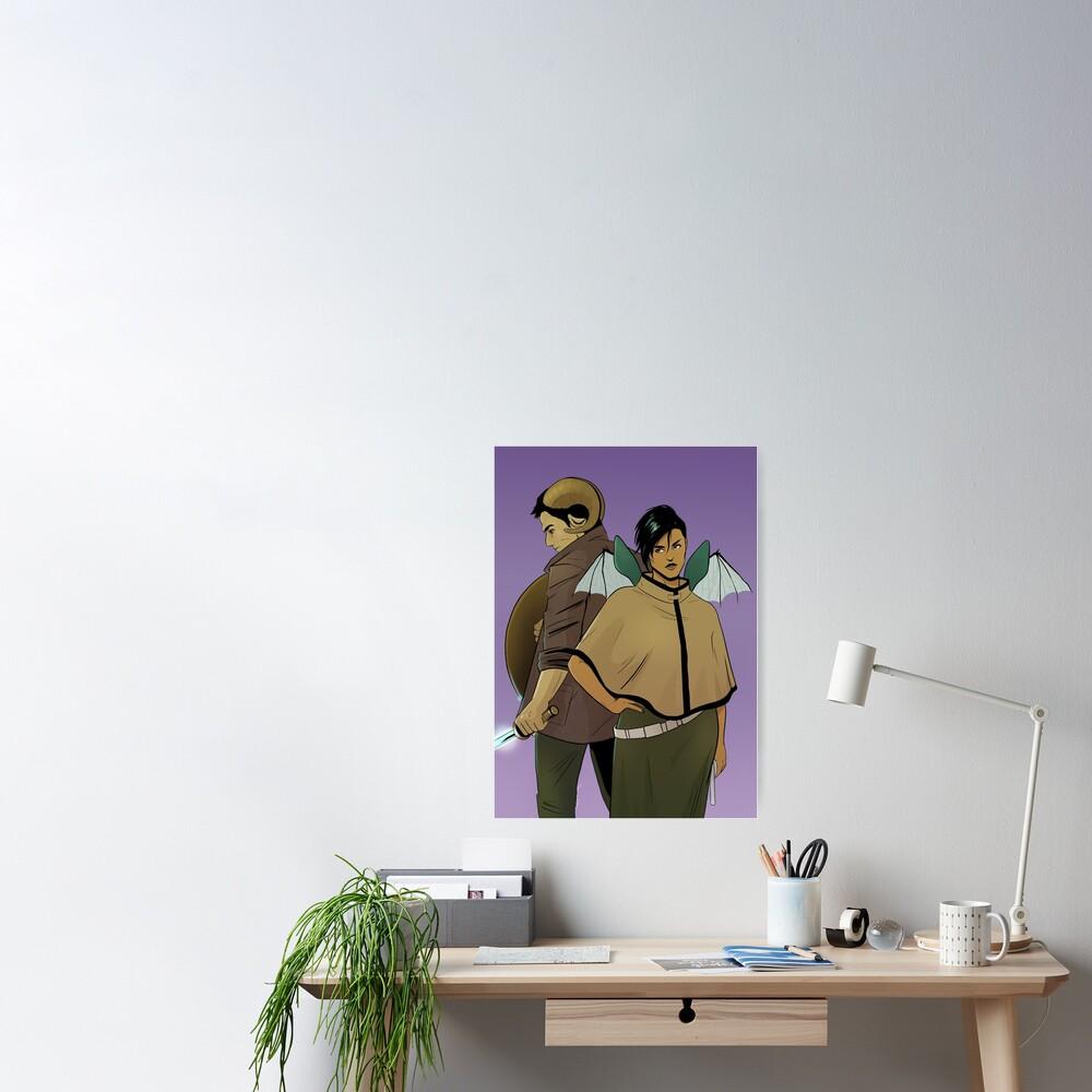 Alana and Marko Poster