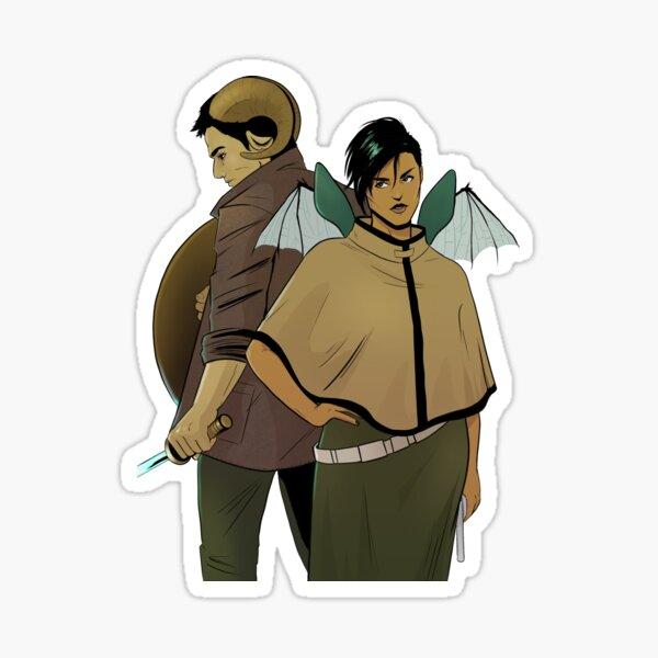 Alana and Marko Sticker