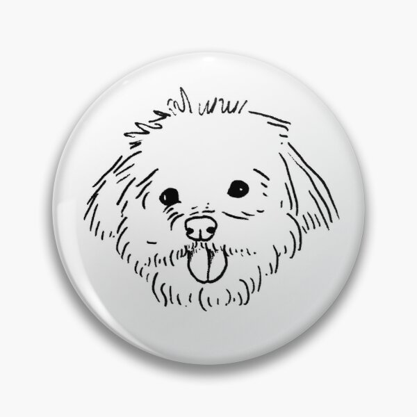 Louie the Puppy Pin
