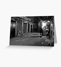Streetscape Greeting Card