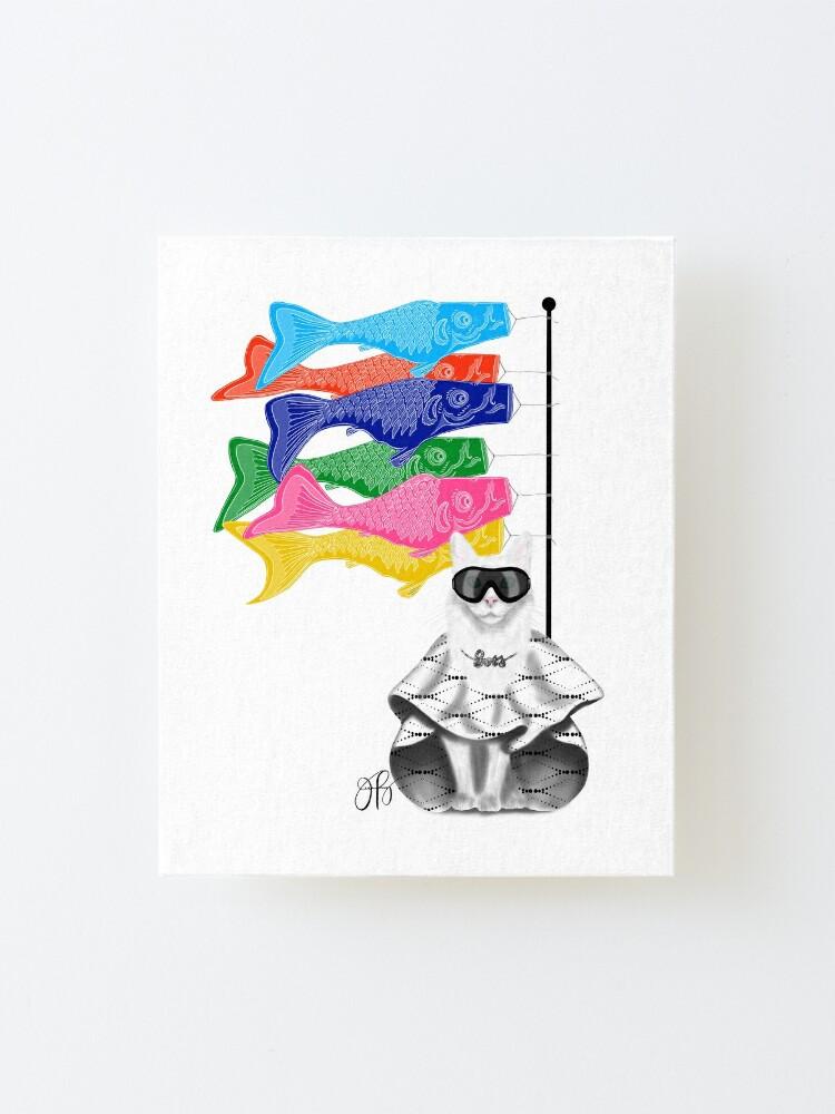 Alternate view of Boss Babe Windsock Fish Mounted Print