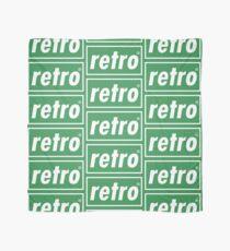 Retro - Green Scarf