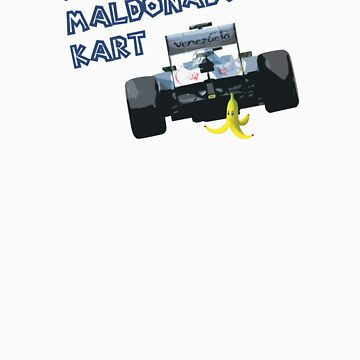 Super Maldonado Kart - Blue Writing by wtf1