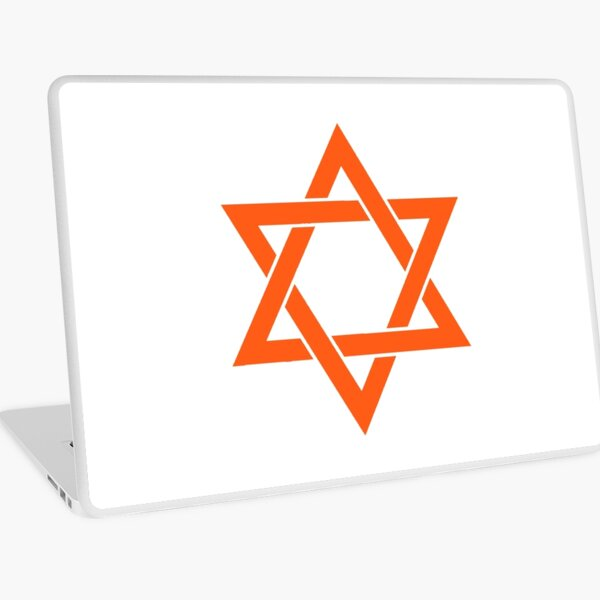 Jewish,  #Star of #David #Clipart #StarOfDavid, Masks Laptop Skin