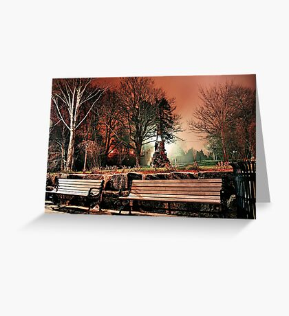 Bowring at Night Greeting Card