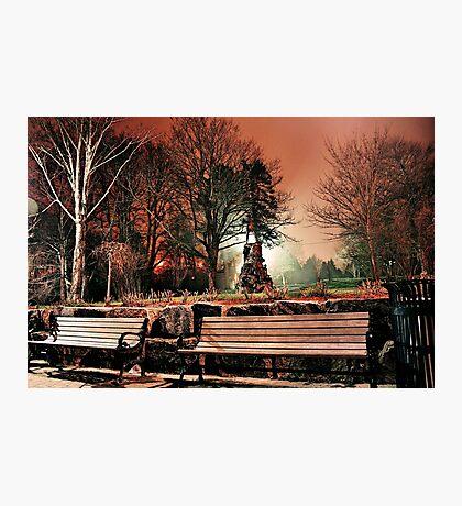 Bowring at Night Photographic Print