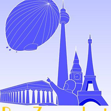 Europe-By Zeppelin! by MediaInk