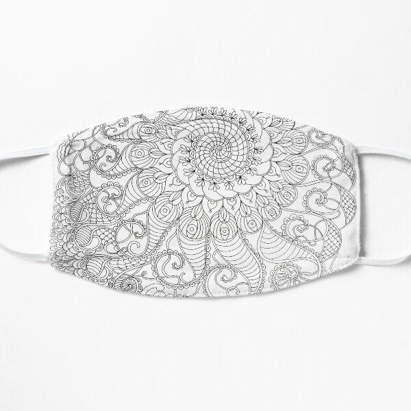 Spiral Mandala Mask