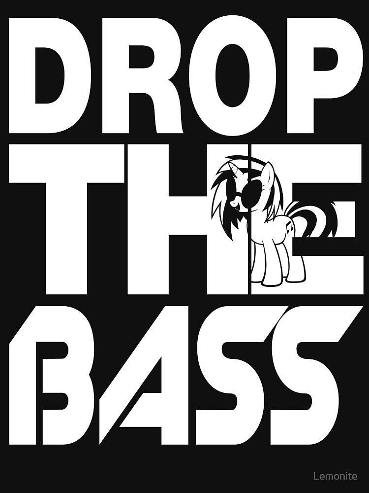 Bass Droppin' PON3 - Inverted | Unisex T-Shirt