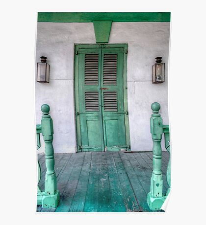 Old House in Nassau, The Bahamas Poster