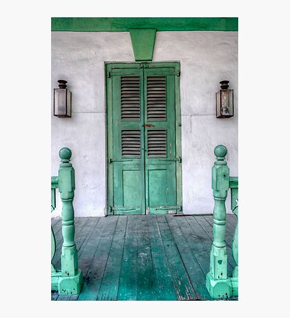 Old House in Nassau, The Bahamas Photographic Print