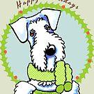 Sealyham Terrier Happy Howlidays by offleashart