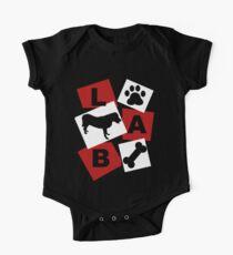Black Labrador. Kids Clothes