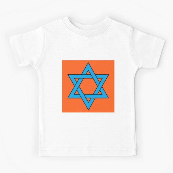 #Star of #David #Clipart #StarOfDavid, Masks Kids T-Shirt