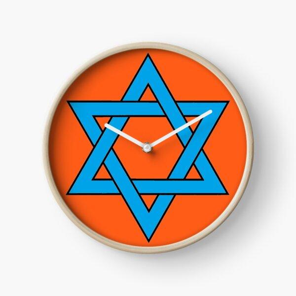 #Star of #David #Clipart #StarOfDavid, Masks Clock