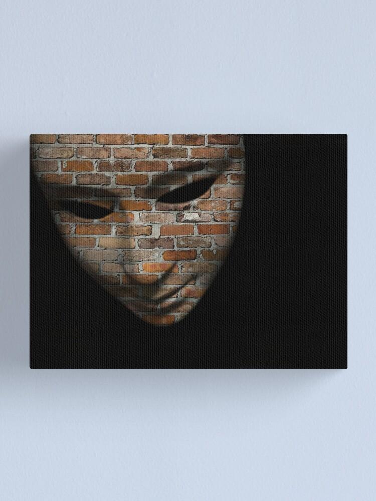 Alternate view of Masks Canvas Print