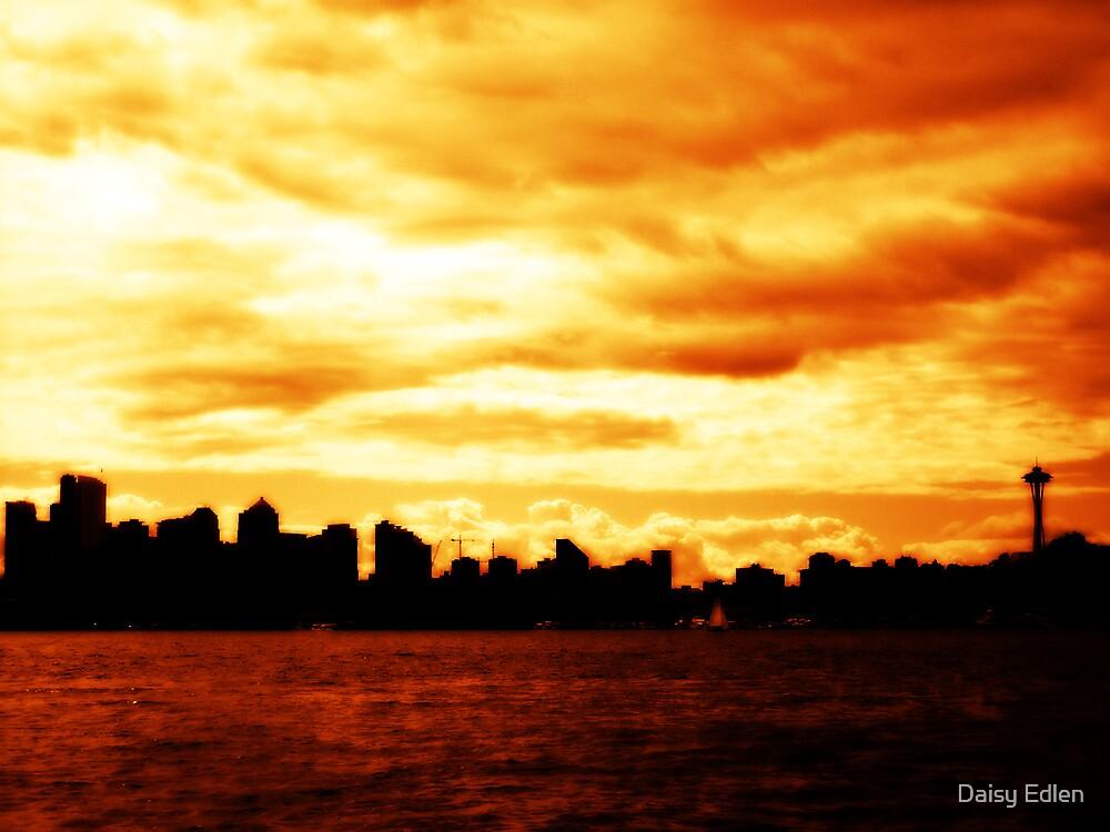 Seattle Skyline  by Daisy Edlen