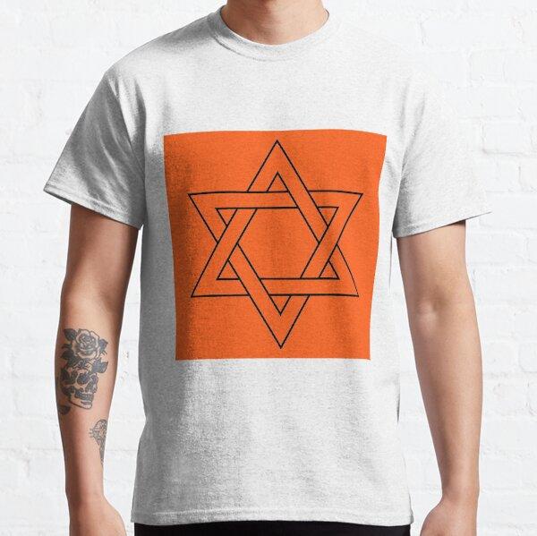 #Star of #David #Clipart #StarOfDavid, Masks Classic T-Shirt