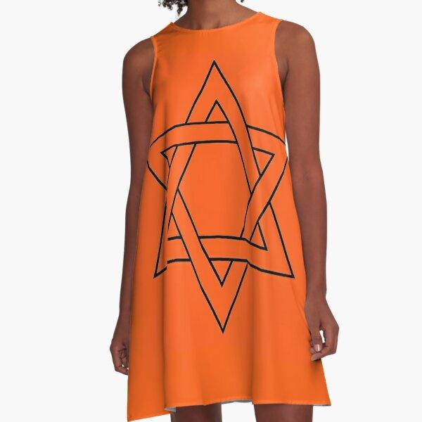 #Star of #David #Clipart #StarOfDavid, Masks A-Line Dress